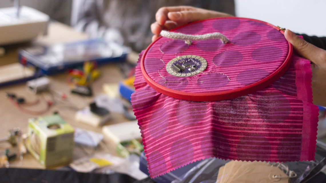 Photograph of Creative DIY Electronics Workshop – Northern Design Festival