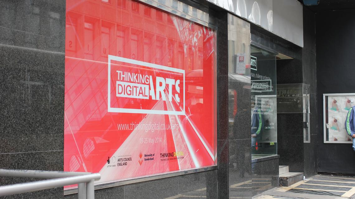 Photograph of Thinking Digital Arts // Hack
